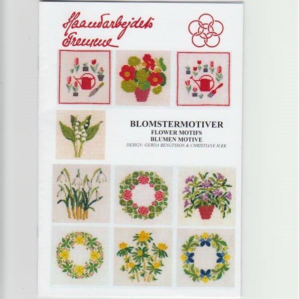 Blomstermotiver - broderihæfte