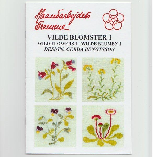 Vilde Blomster 1 - broderihæfte