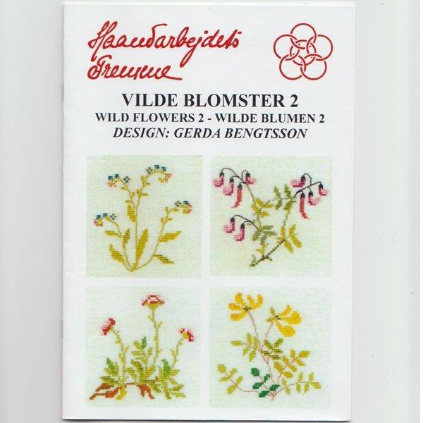 Vilde Blomster 2 - broderihæfte